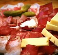 Tagliere Valdostano di salumi e formaggi