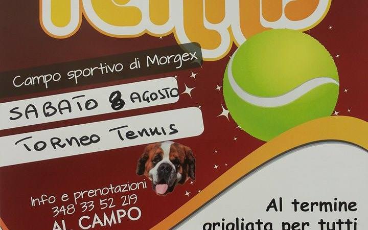 TORNEO DI TENNIS 8 AGOSTO